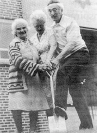 1965 groundbreaking ceremony